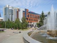 """Новосибирск, улица Каменская, дом 7/1. гостиница (отель) """"Doubletree by Hilton"""""""