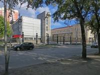 Новосибирск, улица Каменская, дом 36. колледж Новосибирский государственный хореографический колледж