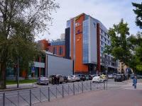 """Новосибирск, улица Каменская, дом 7. офисное здание БЦ """"Double Hill"""""""
