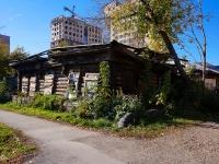 Новосибирск, улица Семьи Шамшиных, дом 43А. аварийное здание