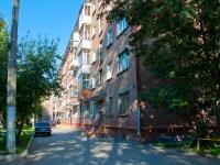 Новосибирск, улица Блюхера, дом 10. многоквартирный дом