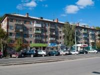 Новосибирск, улица Блюхера, дом 13. многоквартирный дом