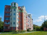 Новосибирск, улица Блюхера, дом 17/4. многоквартирный дом