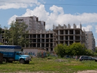 Novosibirsk, Novosibirskaya st, house 25 с.1. building under construction