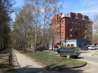 Новосибирск, улица Пархоменко, дом 14/1. многоквартирный дом