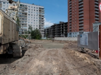 Novosibirsk, Parkhomenko st, house 104/СТР. building under construction