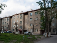 Novosibirsk, 1st Parkhomenko alley, house 4. Apartment house