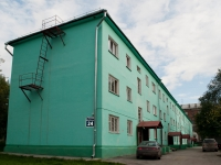 Novosibirsk, 1st Parkhomenko alley, house 24. Apartment house