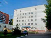 Новосибирск, Пархоменко 2-й  переулок, дом 2. больница №4 им. В.С.Гераськова