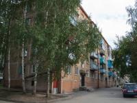 Новосибирск, Пархоменко 2-й  переулок, дом 10. многоквартирный дом