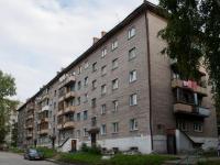 Новосибирск, Пархоменко 2-й  переулок, дом 12. многоквартирный дом