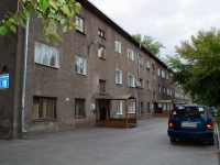 Novosibirsk, alley 2nd Parkhomenko, house 19. Apartment house