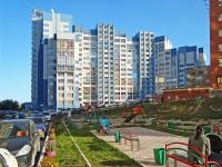 Новосибирск, Горский микрорайон, дом 1. многоквартирный дом