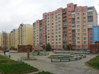 Novosibirsk, Gorsky district, house 42. Apartment house with a store on the ground-floor