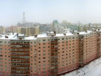 Новосибирск, Горский микрорайон, дом 47. жилой дом с магазином