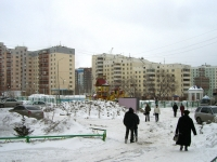Novosibirsk, Gorsky district, house 50. Apartment house with a store on the ground-floor
