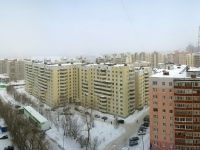 Новосибирск, Горский микрорайон, дом 50. жилой дом с магазином