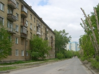 Novosibirsk, st Permitin, house 5. Apartment house