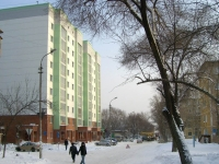 Novosibirsk, Novogodnyaya st, house 12/1. Apartment house