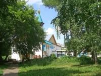 Novosibirsk, temple Всех Святых, Novogodnyaya st, house 24
