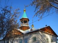 Новосибирск, храм Всех Святых, улица Новогодняя, дом 24
