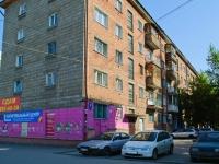 Новосибирск, улица Космическая, дом 8. многоквартирный дом