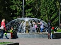 Novosibirsk, 1905 goda st, fountain