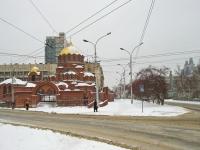 Новосибирск, улица Советская, дом 1А. собор Во имя Александра Невского