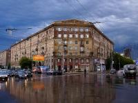 Новосибирск, улица Советская, дом 49. многоквартирный дом
