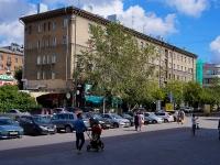 Новосибирск, улица Советская, дом 35. многоквартирный дом