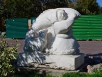 Новосибирск, скульптура Быт народов Севераулица Советская, скульптура Быт народов Севера