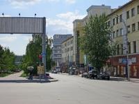 Новосибирск, Красный проспект, дом 13. многоквартирный дом