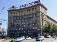 Novosibirsk, Krasny Blvd, house 30. Apartment house with a store on the ground-floor