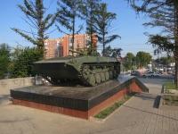 Новосибирск, улица Северная. памятник Ветеранам боевых действий