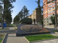 Новосибирск, памятник Ветеранам боевых действийКрасный проспект, памятник Ветеранам боевых действий