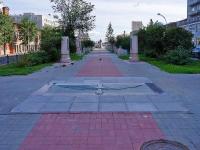 Новосибирск, Красный проспект. сквер А.И. Покрышкина