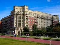 Novosibirsk, Krasny Blvd, house 16. Apartment house