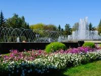 Novosibirsk, Krasny Blvd, fountain