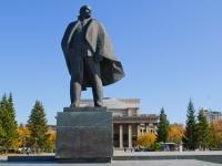Новосибирск, Красный проспект. памятник В.И. Ленину
