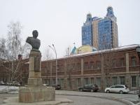 Новосибирск, Красный проспект. памятник А.И. Покрышкину