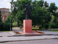 Novosibirsk, st Shchetinkin. monument