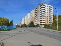 Novosibirsk, 25 Let Oktyabrya st, house 14. Apartment house