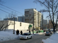 Novosibirsk, 25 Let Oktyabrya st, house 16/1. Apartment house