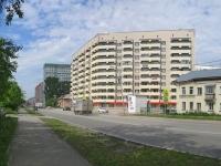 Новосибирск, улица Авиастроителей, дом 27. многоквартирный дом