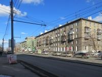 Новосибирск, улица Авиастроителей, дом 12. многоквартирный дом
