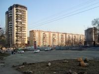 Новосибирск, улица Дениса Давыдова, дом 1. многоквартирный дом