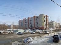 Новосибирск, улица Дениса Давыдова, дом 9. многоквартирный дом