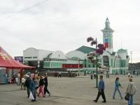 Novosibirsk, railway station Новосибирск-Главный, Shamshurin st, house 41