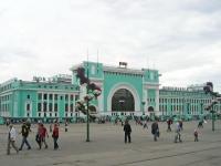 Новосибирск, улица Дмитрия Шамшурина, дом 43. вокзал Новосибирск-Главный