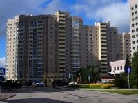 Novosibirsk, st Shamshurin, house 1. Apartment house
